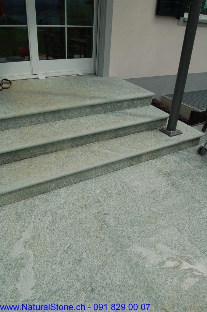 Blockstufen für Treppen im innen- und aussenbereich.