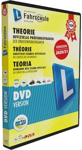 Software für PC und Smartphone zum Lernen der Fahrschul Theorieprüfung in der Schweiz.