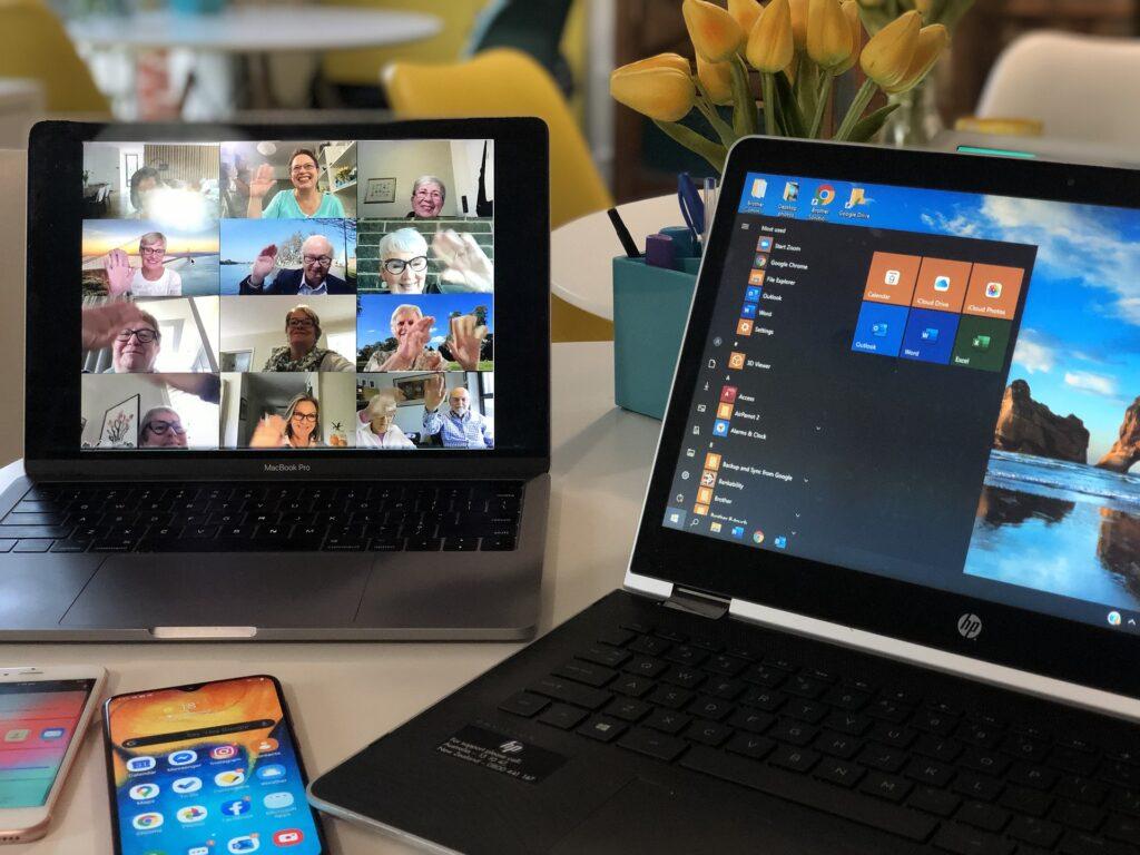 Zugang zum testen von Skype für ein Webinar, einem Online Kurs..