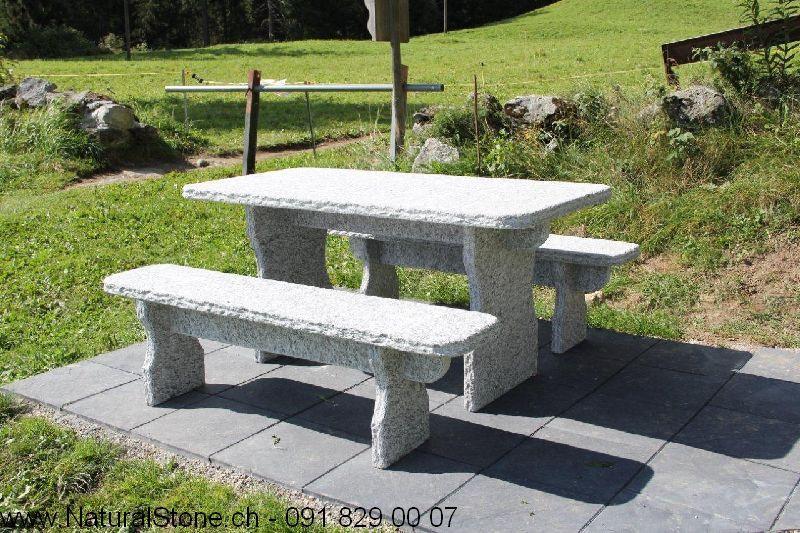 Tisch Gottardo mit geraden kanten