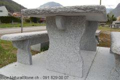 Modell Gottardo Tisch mit Bänken
